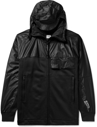 C.P. Company Panelled Jersey And Gore-Tex Infinium Hooded Jacket