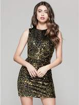 GUESS by Marciano Women's Glam Sequin Mini Dress
