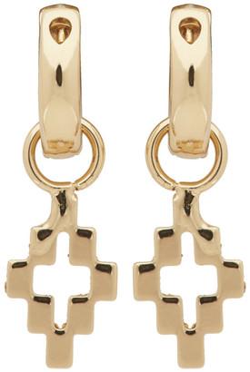 Marcelo Burlon County of Milan Gold Cross Pendant Earrings