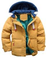 WEONEDREAM Children Boys and Girls Duck Down Coat Winter Thick Hooded Snowsuit