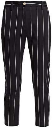 Derek Lam 10 Crosby Striped Cropped Pants