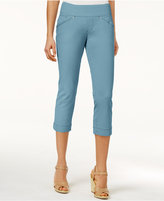 Jag Petite Marion Pull-On Skinny Colored Cropped Jeans