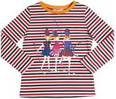 Sonia Rykiel Cheerleaders Print Cotton Jersey T-Shirt