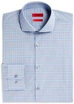 HUGO Meli Large Check Overcheck Sharp Fit - Regular Fit Dress Shirt