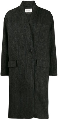 Etoile Isabel Marant Oversized Single-Breasted Coat