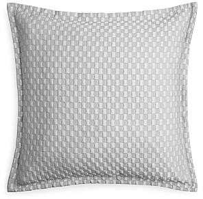 Hudson Park Collection Luxe Block Matelasse Quilted Euro Sham - 100% Exclusive