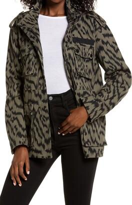 AVEC LES FILLES Cotton Twill Cargo Jacket