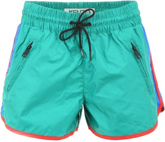 Kenzo Colour Block Shell Shorts