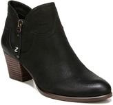 Zodiac Side-Zip Leather Booties - Kaylin