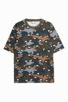 Paul & Joe Leopard and Camouflage-Print T-Shirt