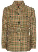 Prada Houndstooth cotton jacket