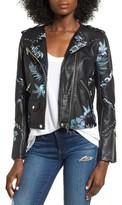 Blank NYC Women's Blanknyc Painted Moto Jacket