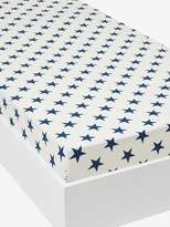 Fitted Sheet, Explorer Theme - blue/ecru, Furniture & Bedding | Vertbaudet