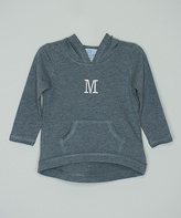 Princess Linens Gray Personalized Hoodie - Infant, Toddler & Boys
