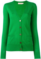 Tory Burch button up cardigan - women - Merino - S