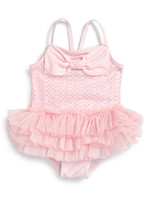 Little Me Glitzy Skirted One-Piece Swimsuit (Baby Girls)