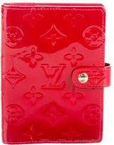 Louis Vuitton Vernis Agenda PM Cover
