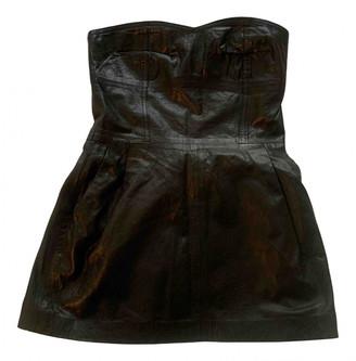 Ventcouvert Black Leather Tops