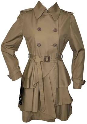 Miu Miu Beige Cotton Coat for Women