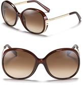 Fendi Sleek Large Oversized Sunglasses