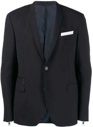 Neil Barrett zipped blazer
