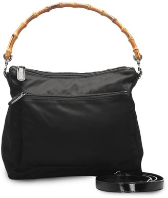 Gucci Pre-Owned Bamboo two-way bag