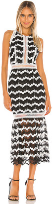 Bronx and Banco Emma Midi Dress