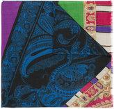 Etro paisley print scarf - men - Wool/Yak - One Size