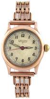One Kings Lane Vintage 14K Rose Gold Doctor's Watch & Bracelet