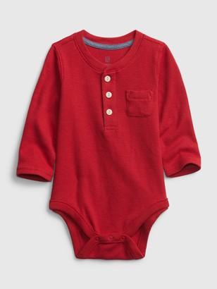 Gap Baby Henley Bodysuit