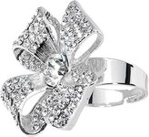 Body Candy Decorative Sparkling Ribbon Adjustable Ring
