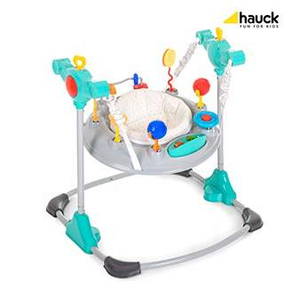 Hauck Jump Around, Stable Activity Centre from 6 Months to 12 kg, Walker with Music and Light, Height-Adjustable Play Centre, Swivelling, Hearts