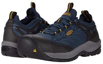 Keen Flint II Sport Carbon Fiber Toe (Forged Iron/Black) Men's Work Boots