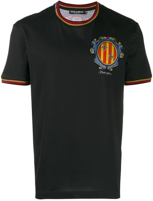 Dolce & Gabbana chest print T-shirt