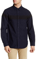 Howe Long Sleeve Winchester Nepped Regular Fit Shirt