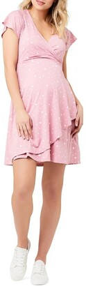 Ripe Liv Wrap Dress Lt