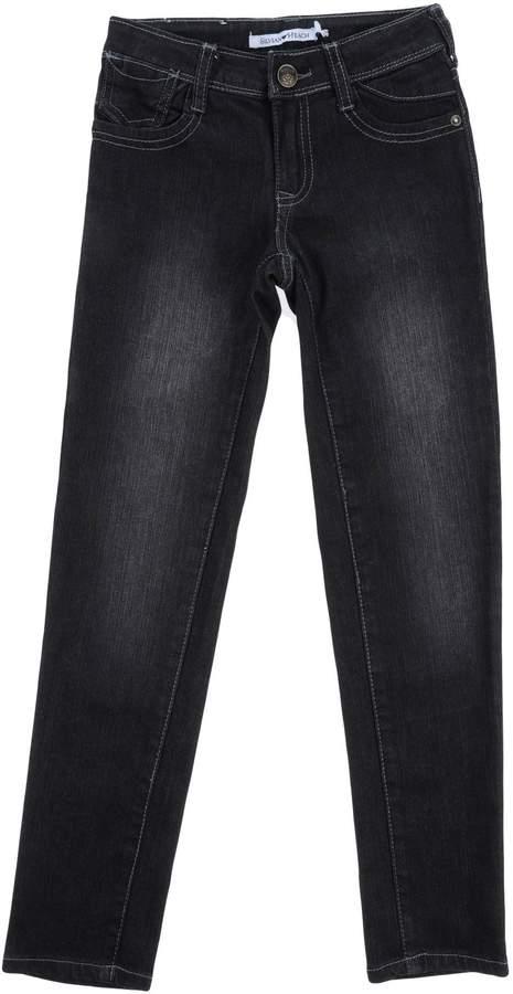 Silvian Heach Denim pants - Item 42594487