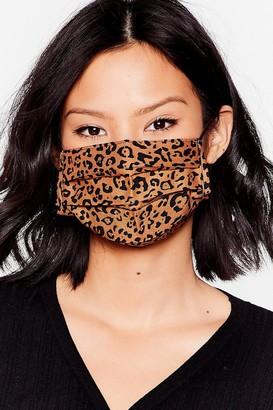 Nasty Gal Womens Stay Fierce 2-Pc Fashion Face Mask Set - Beige - ONE SIZE, Beige