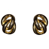 Christian Dior Double Chain Link Earrings (Clip On)