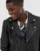 Bolongaro Trevor quilted real leather jacket