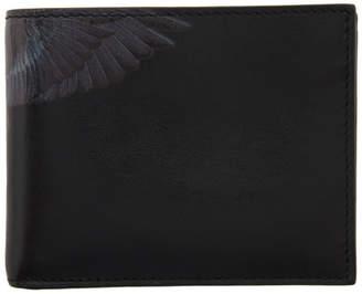 Marcelo Burlon County of Milan Black Chain Wings Wallet