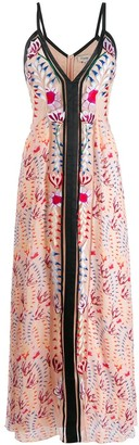 Temperley London Rosy strappy dress