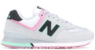 New Balance Panelled Lace-Up Sneakers