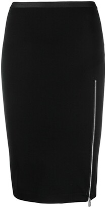 Alyx High-Rise Zip-Up Pencil Skirt