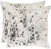 Safavieh Modern Art Set Of 2 Decorative Pillows