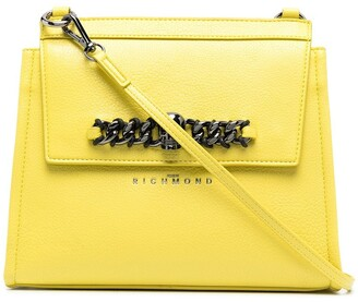 John Richmond Ceritos leather tote bag