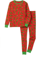 Leveret Alligator Pajama Set (Big Boys)