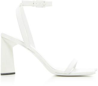 Balenciaga Moon Sandals in Optical White | FWRD