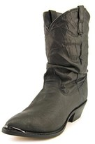 Dingo Pig Slouch Round Toe Leather Boot.