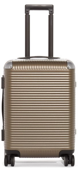 FPM Milano Bank Light Spinner 53 Trunk Suitcase - Brown